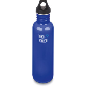 Klean Kanteen Classic Bottle Loop Cap 800ml blue